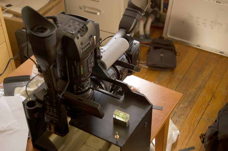 Housebound 3d stereo rig