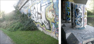 graffiti: Canal Robaix