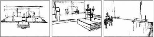 Stills from hand-drawn test (Wilson sketch)