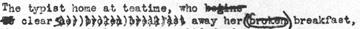 Wasteland manuscript (detail)